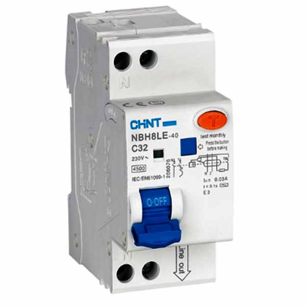 NBH8LE Residual Current Operated Circuit Breaker with Over-current Protection (Electron)