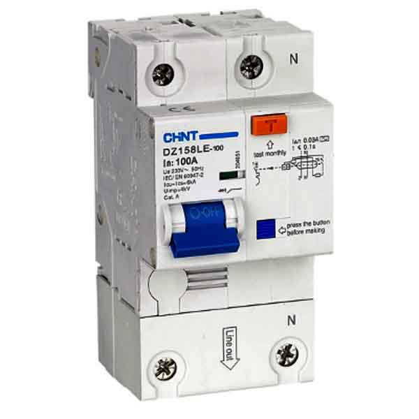 DZ158LE  Residual Current Operated Circuit Breaker